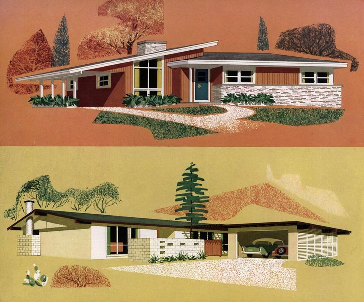 1000 Images About Atomic Ranch House On Pinterest