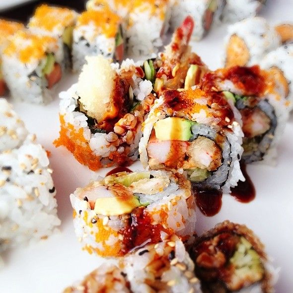 Shrimp tempura roll @ Okinawa Japanese Cuisine