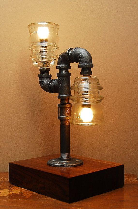 best 25 pipe lamp ideas on pinterest pipe lighting. Black Bedroom Furniture Sets. Home Design Ideas