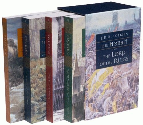 The Lord of the Rings & The Hobbit by J.R.R. Tolkien