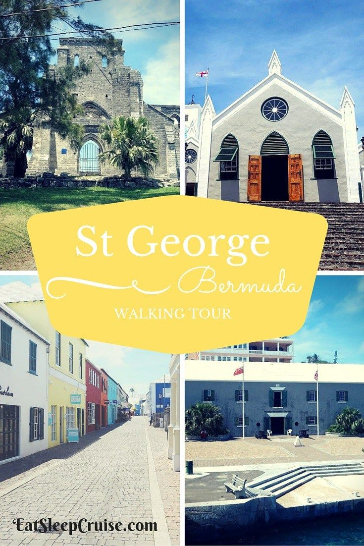 Self-Guided St George's Bermuda Walking Tour