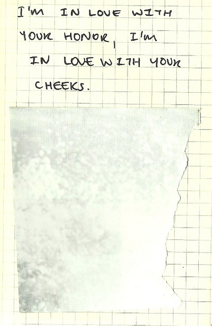 Bon Iver. One of my favourite lyrics. So simply adorable.