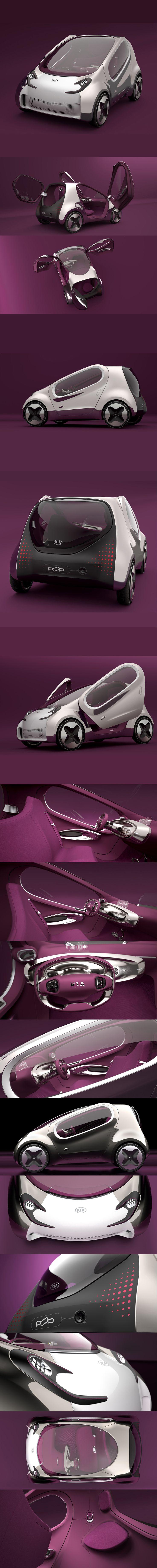 Now that IS so HOT! Kia POP concept <3