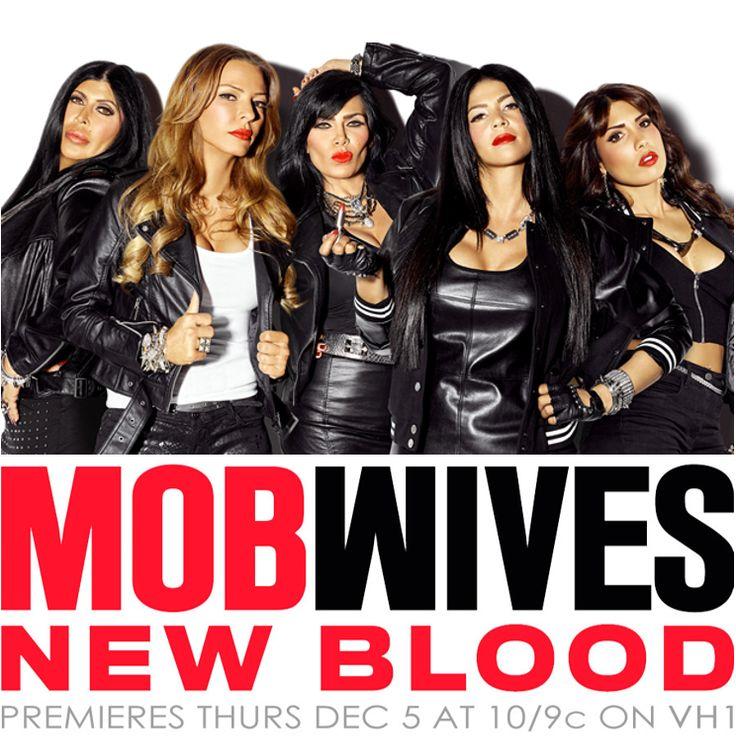 Mob Wives: New Blood airs on VH1 - Season 4 Cast: Renee Graziano, Drita D'Avanzo, Carla Facciolo, Karen Gravano, Big Ang, Natalie Guercio. Former Cast: Carla Facciolo, Ramona Rizzo, Alicia DiMichele.