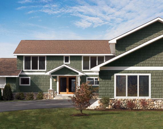 Certainteed Siding Cedar Impressions 174 Staggered Rough