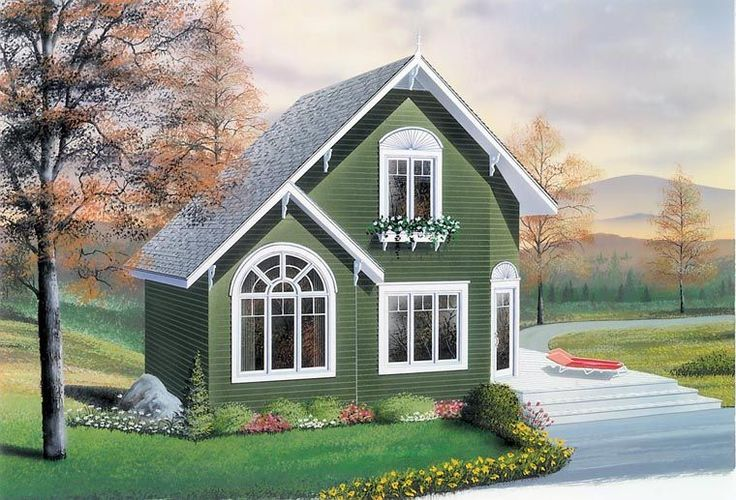 House Plan 76168 | Country    Plan with 991 Sq. Ft., 2 Bedrooms, 2 Bathrooms