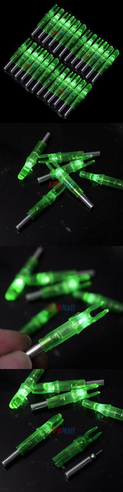 Nocks 181311: 24Pcs Shooting Archery Led Lighted Nock Compound Bow 6.2Mm Green Arrow Nock Us -> BUY IT NOW ONLY: $36.9 on eBay!