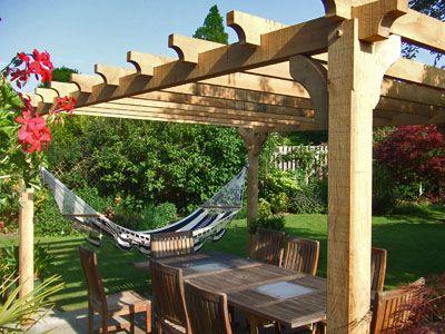 Hot Tub Hammock >> Pergola and hammock | Pool Space Creations | Pinterest ...