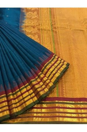 Classic Gadwal Pure Silk Cotton Saree Brand: Janardhan silks Product Code: AB201611 Price: ₹7,250 #Wedding #Kanchipuram #Kanjivaram #Kanjeevaram #Designersarees #Ethnicwear #Exclusivedesign #India # Saree fashion #Sari #Beautiful Saree #wedding #bridalwear #indianwedding #designer #bridal #desi #indianfashion #partywear #ethnic #sarees #onlineshopping Sarees #indianbride #indianwear #Saree love #uk #usa # canada #traditional #gorgeous #bride #elegant