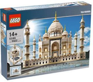 BEST (but also VERY expensive) GIFT FOR LEGO FANS: Lego's Taj Mahal Set 10189