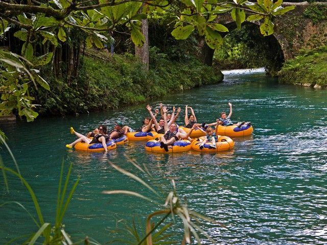 River Tubing Safari-  White River Tubing in Ocho Rios, Jamaica