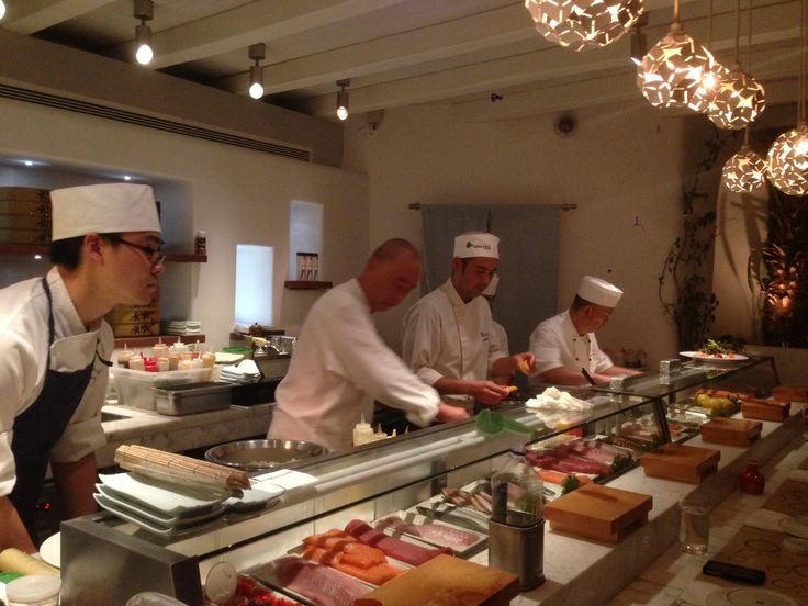 Chef Nobu Matsuhisa at the Nobu Food Festival held at Matsuhisa Mykonos 9-13 July 2013.