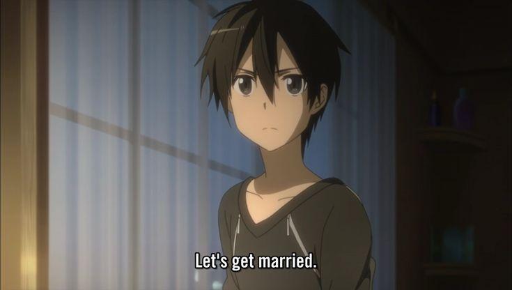 anime marriage proposa...