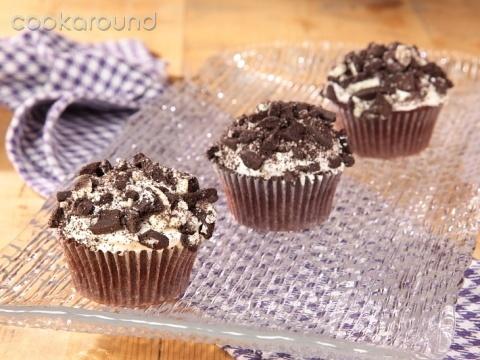 Cupcakes biscotti e crema: Ricette Dolci | Cookaround