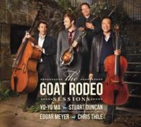 "Check out ""The Goat Rodeo Sessions"" by Yo-Yo Ma, Stuart Duncan, Edgar Meyer & Chris Thile on Amazon Music. https://music.amazon.com/albums/B00608L95Q?ref=dm_sh_6koP86gQ4ksFEtNQjW3eXQK5M"