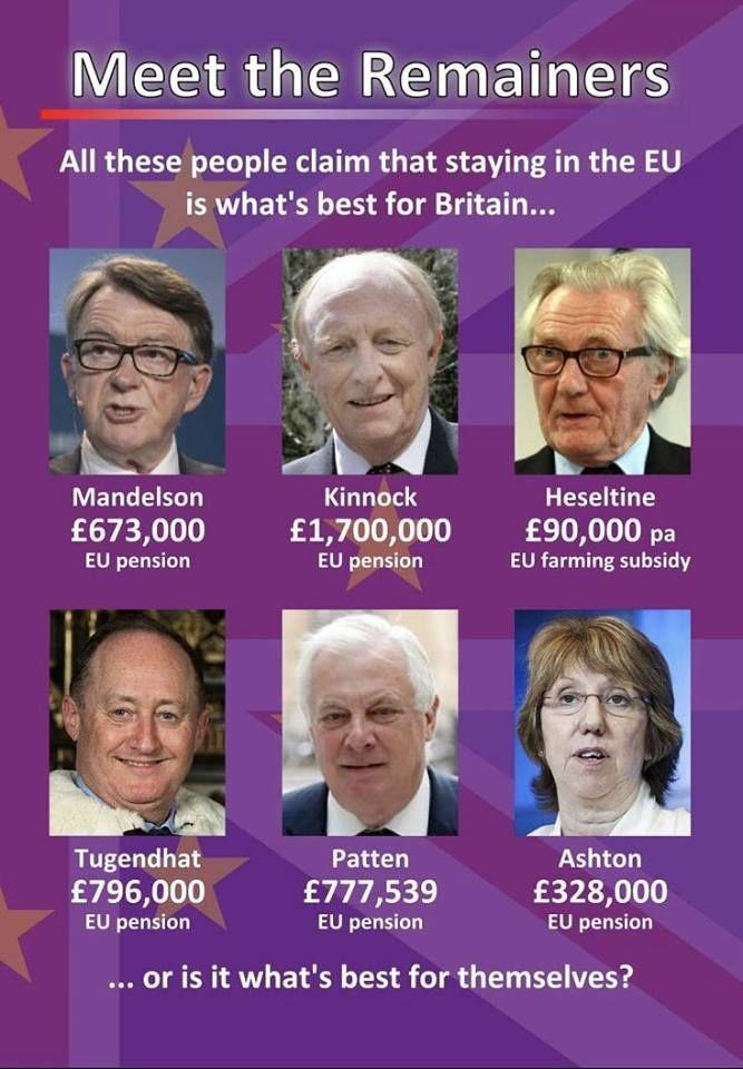Brexit Political Satire Scary Facts Conservative Politics