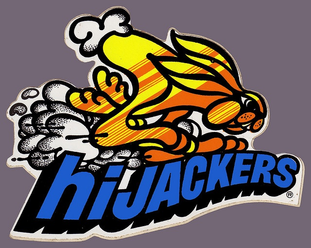 This was on the back of my bedroom door for decades....  HiJackers Air Shocks Rabbit sticker - 1970's by JasonLiebig, via Flickr