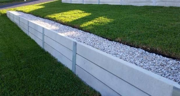 Building A Retaining Wall With Wood Retainingwall Concrete Retaining Walls Backyard Retaining Walls Concrete Sleeper Retaining Walls