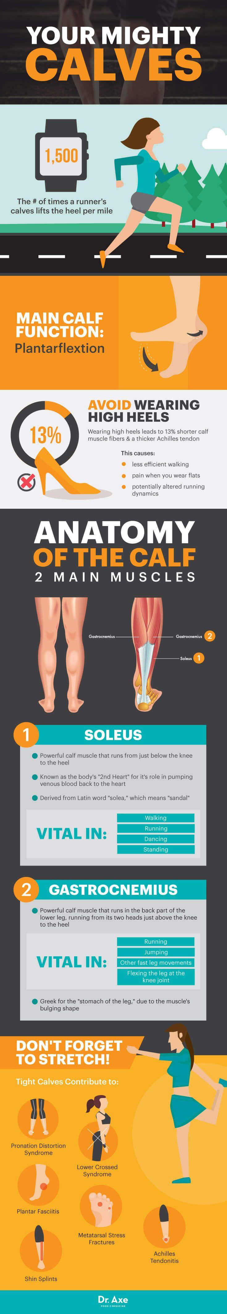 Calf exercises - Dr. Axe http://www.draxe.com #health #holistic #natural