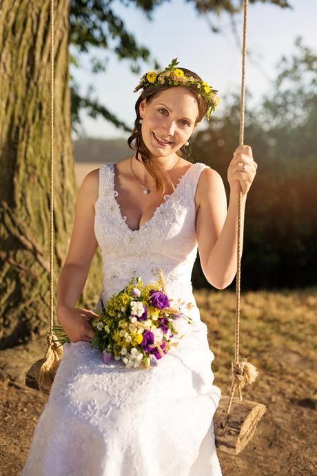 Italské krajkové svatební šaty, 38