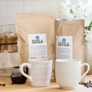 Zoka Coffee Costa Rica Cup of Excellence Whole Bean Light Roast Coffee 8oz