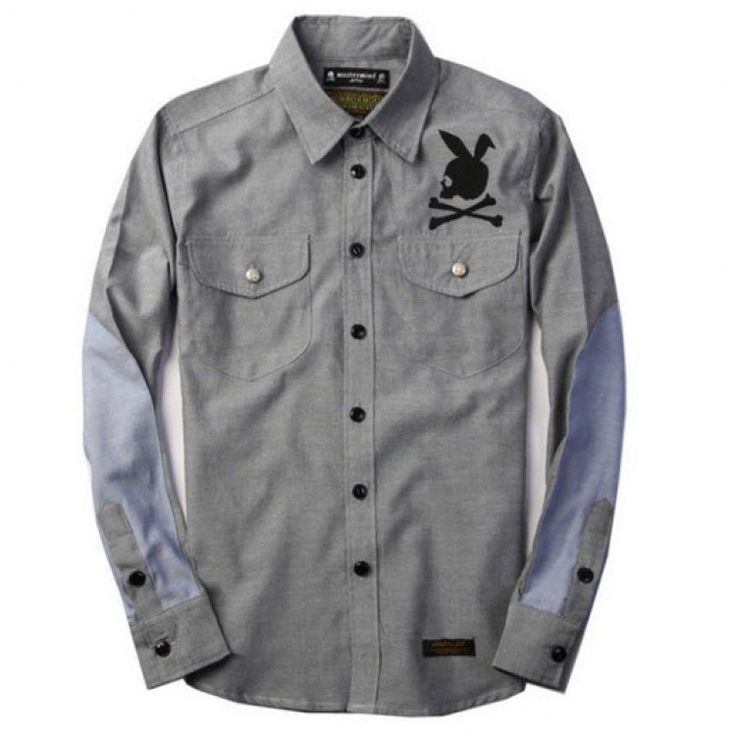 Who says ca cute bunny can't be bad-ass? Check out this Mastermind Japan x Neighborhood Button Up Shirt Collection at fusionswag.com #MastermindJapan #Neighborhood #NBHD #buttonup #shirt #streetfashion #streetwear #urbanwear #fusionswag