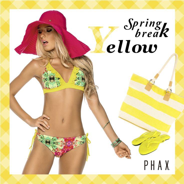 Enjoy your spring break with Phax Swimwear ! <3