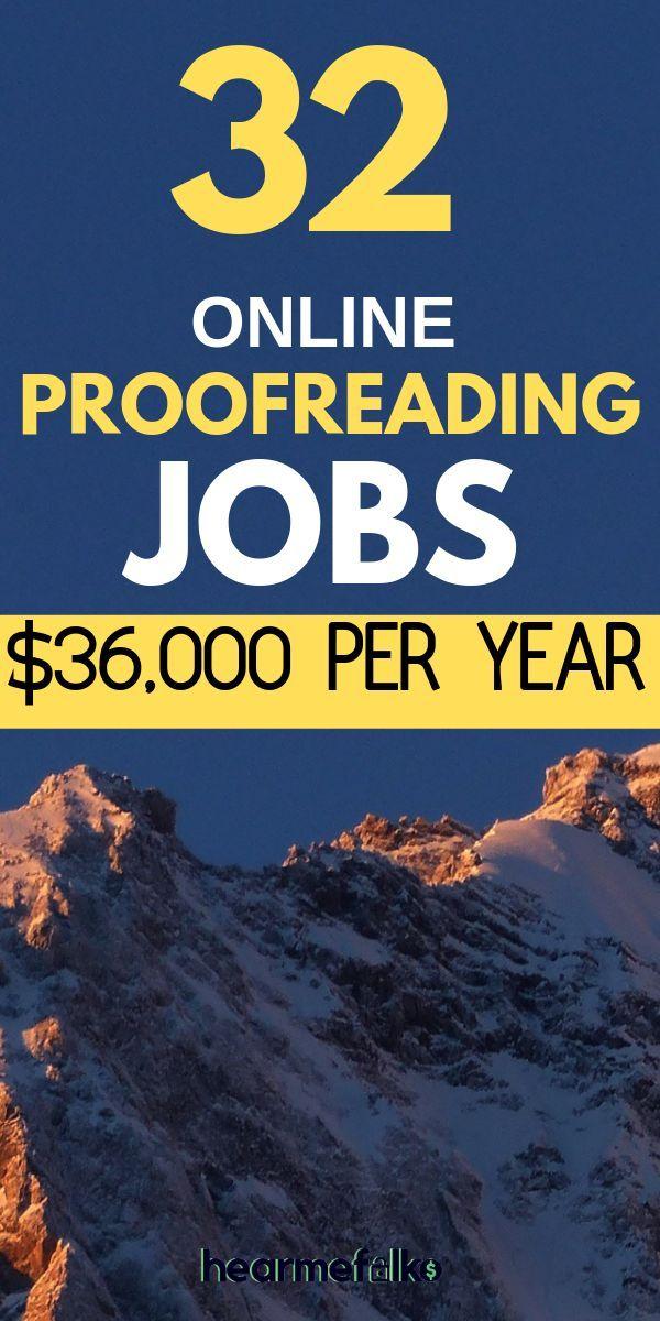 Von zu Hause aus arbeiten: Korrekturlesen für Anfänger bis zu 3.000 USD / Mona… – Geld machen
