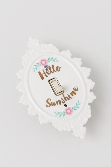 Hello Sunshine Light Switch Cover