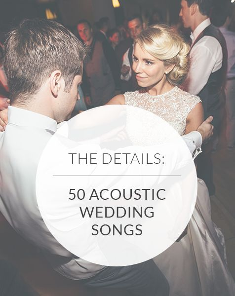 Searching for unique love songs for your big day? A modern playlist that will stand apart? These 50 acoustic wedding songs and 15 tips will get you started!