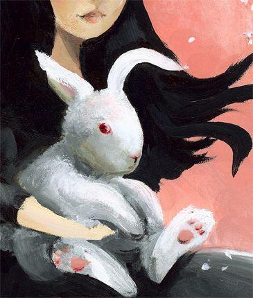 Rabbit Art by Amber Alexander