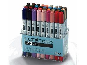 Copic Ciao set 36D, 36 colors