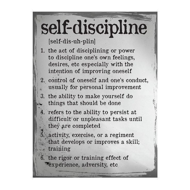 self disicpline essay The role of discipline in schools education essay discipline is to teach students to choose responsible behavior, thereby increasing their self-esteem.