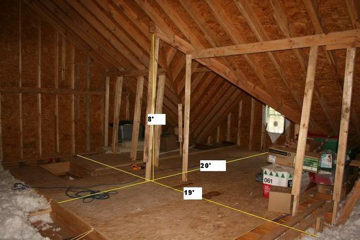 Attic Room Ideas Garage Attic Room Remodeling Diy