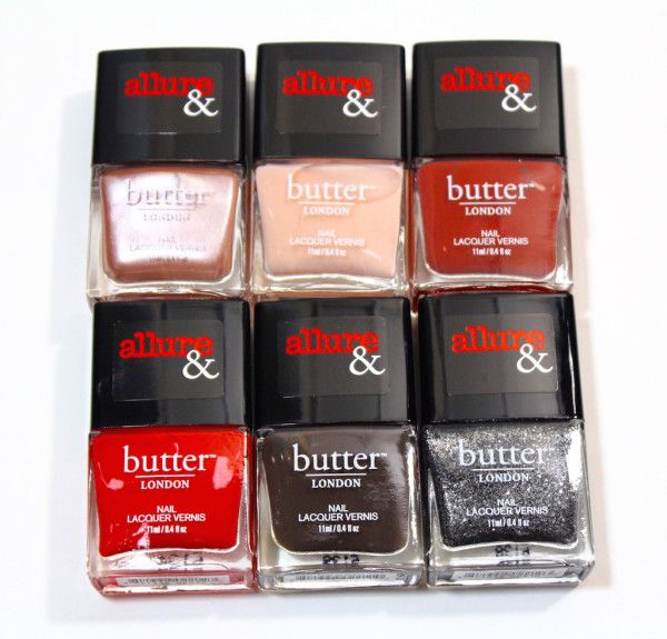 Allure and Butter London Arm Candy Nail Polish Collection | Swatches, Review and Giveaway #bLxAllure