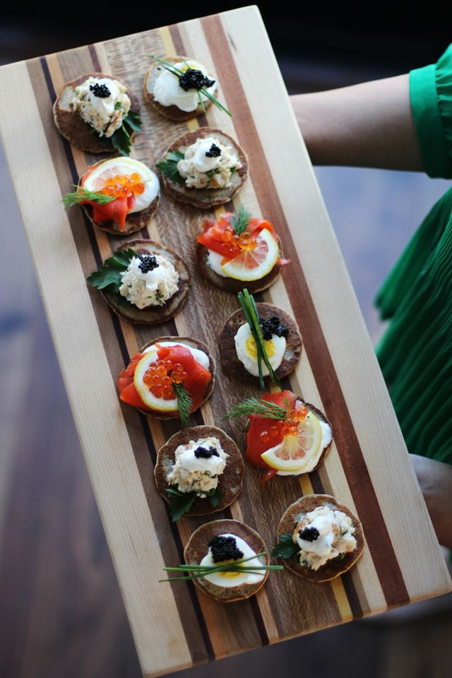 Buckwheat Blinis // HonestlyYUM #NYE
