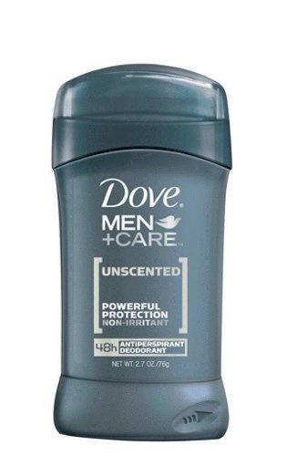 Dove Men + Care Antiperspirant Deodorant, Unscented, 2.7-Ounce (Pack of 2) by Dove, http://www.amazon.com/dp/B004DGWLQI/ref=cm_sw_r_pi_dp_gciPrb16NJ9AG