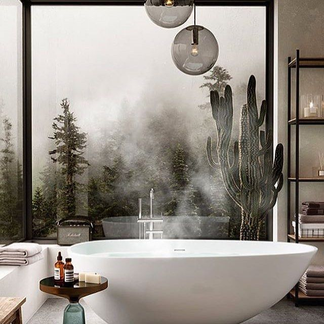 Bathroom goals day via @renderlovers #bathroomdecor #toiletinspo #bathroomgoals #luxuryproperties #luxurylifestyle # @suitefynder #BAinspo #BeautyAirlines