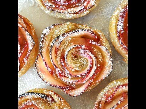Come fare le ROSE DI MELE con pasta sfoglia, una golosità facile, veloce e bella! |