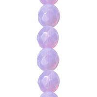 Czech Glass Violet Opal Round - Beads