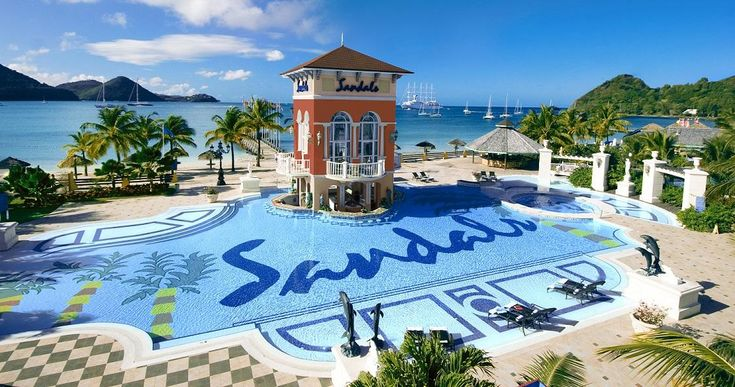 Valentine's Day is just around the corner, and boy, do we have a gift for you! Win a romantic getaway for two at Sandals Resorts! #ad