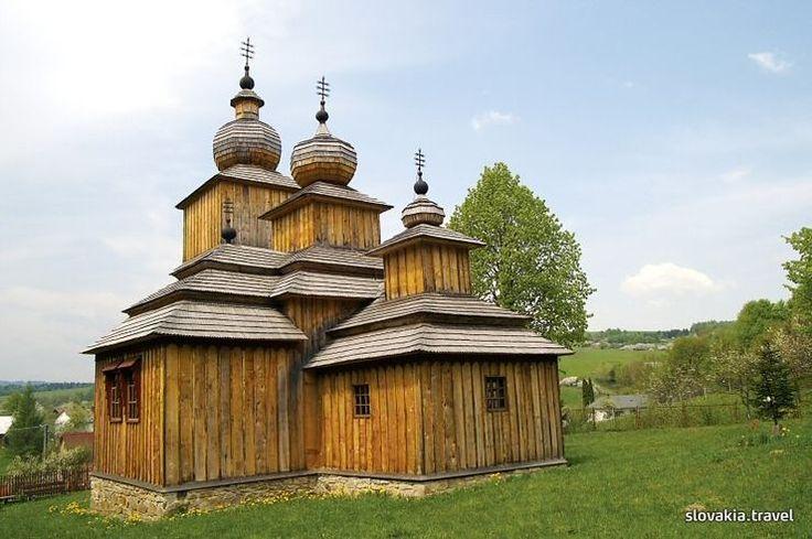Wooden church Dobroslava