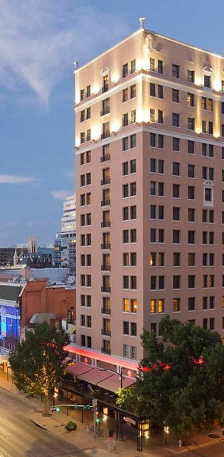 Stephen F S Bar Terrace For Sunset Views Of The Capital Downtown Austin Hotels