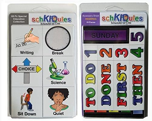 """Now trending: SchKIDules Visual Schedules """"79 Pc Special Ed Combo Pack"""" w/60 Special Education Themed Activity Magnets PLUS 19 Headings Magnets http://www.autasticshop.com/products/schkidules-visual-schedules-79-pc-special-ed-combo-pack-w-60-special-education-themed-activity-magnets-plus-19-headings-magnets?utm_campaign=crowdfire&utm_content=crowdfire&utm_medium=social&utm_source=pinterest"""