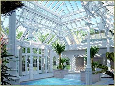 Swimming Pool Enclosure (California) by Tanglewood Conservatories