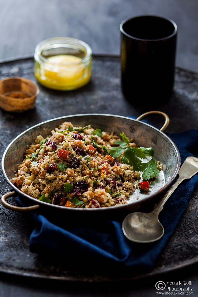 Cauliflower Couscous by Meeta K Wolff: