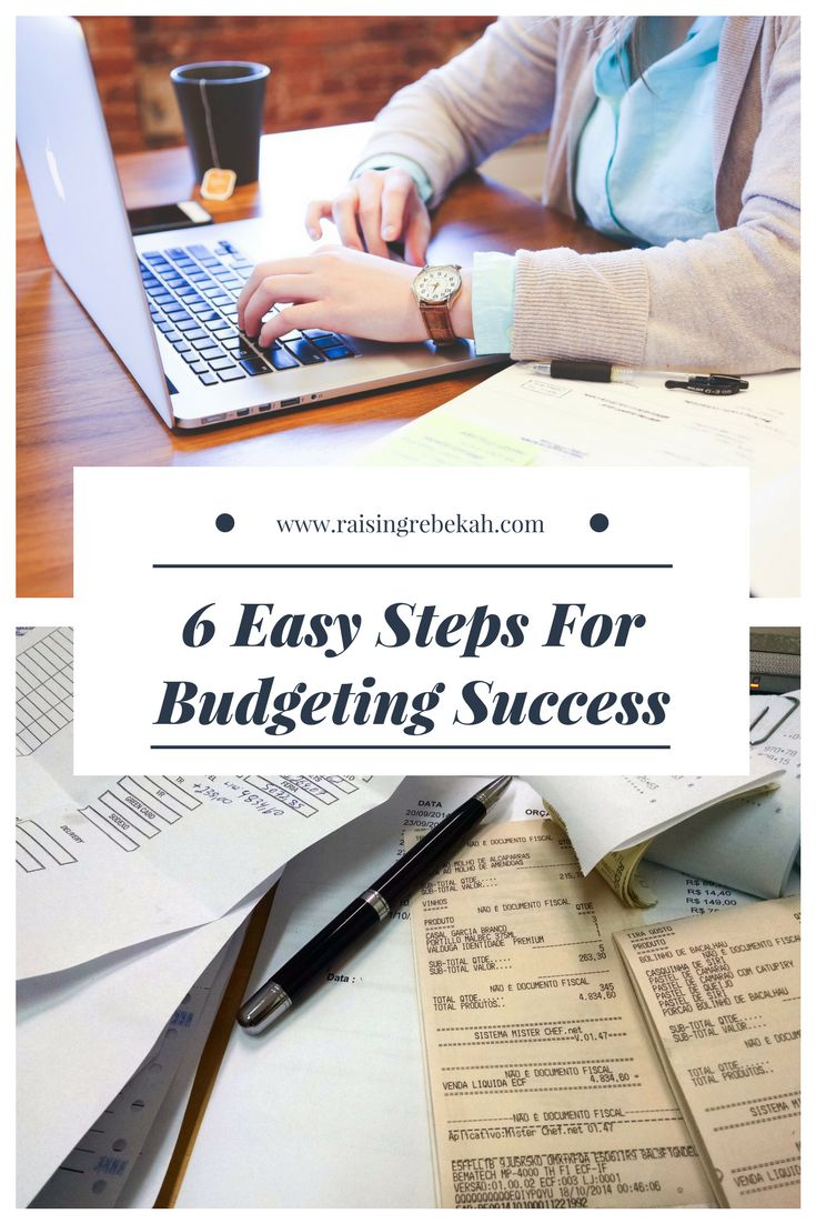 Budgeting can seem daunting, especially when you are in a difficult financial position and want a quick resolution. However, with the right budgeting guidelines, you can easily set yourself up for success. Here are 6 easy steps for budgeting success!