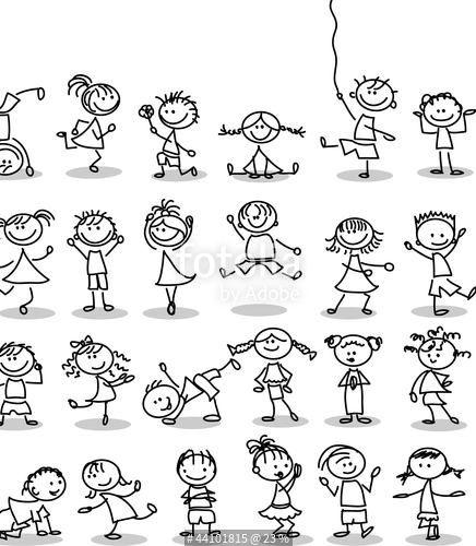 """Laden Sie das lizenzfreie Foto """"Симпатичные счастливых детей мультфильм"""" von virinaflora zum günstigen Preis auf Fotolia.com herunter. Stöbern Sie in unserer Bilddatenbank und finden Sie schnell das perfekte Stockfoto für Ihr Marketing-Projekt!"""