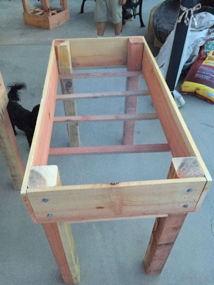 Diy Raised Bed Planter Woodworking Raised Garden Beds