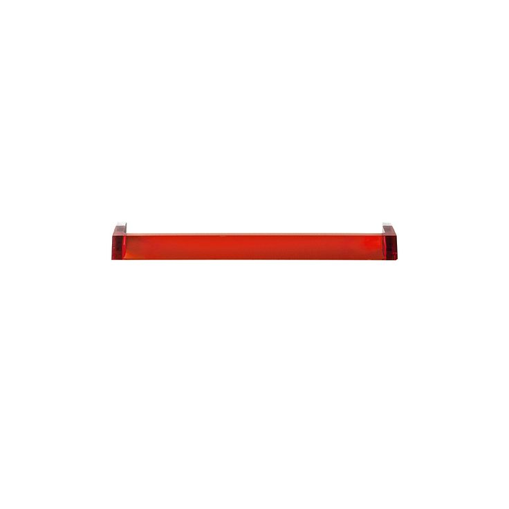 Add functional and stylish design to your bathroom with this Rail towel holder from Kartell.Designed by Ludovica & Roberto Palomba it features simple clean lines and a minimalist aesthetic finished